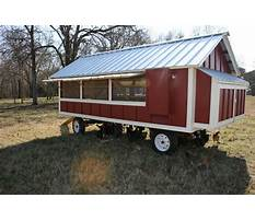 Large movable chicken coops Plan