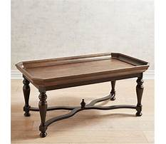 Large round black coffee tables Plan