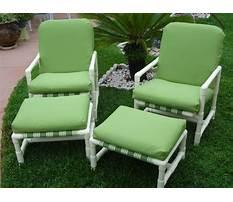 Lawn chair slipcovers Plan