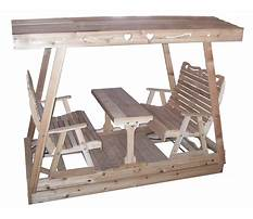 Lawn glider swing plans.aspx Plan