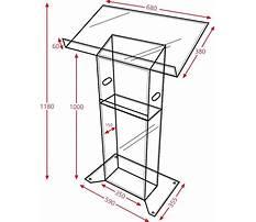 Lectern building plans Plan