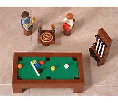 Lego friends how to build furniture Plan