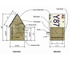 License plate birdhouse plans.aspx Plan