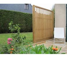 Louvered fence.aspx Plan