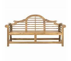 Lowes bench design Plan