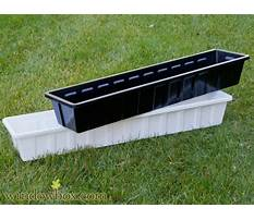 Lowes flower box liners Plan