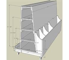 Lumber storage cart asp tutorial Plan