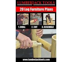 Lumberjack tools log furniture building tools Plan