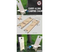 Make a camp chair Plan