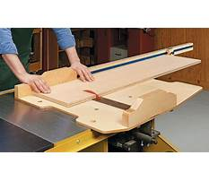 Make a miter sled for your table saw improved version Plan