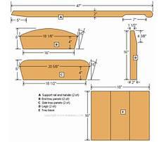 Make a toy wheelbarrow Plan