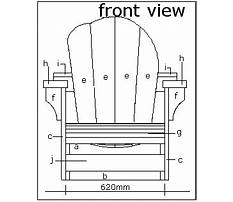Make an adirondack chair for your home this summer limited tools woodworking project Plan