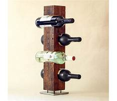 Make hanging wine rack Plan