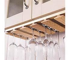 Make wine glass rack Plan