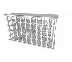 Make wine rack cabinet Plan