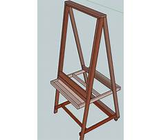 Make your own classroom easel Plan