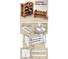 Making a large wine rack Plan
