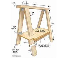 Making a sawhorse for logs.aspx Plan