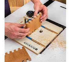 Making box joints with a router Plan