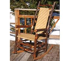 Making rocking chairs out of hickory Plan