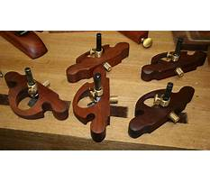 Making woodworking tools Plan