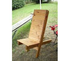 Making your own chairs Plan