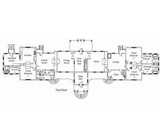 Mansion floor plans blueprints with ballroom Plan