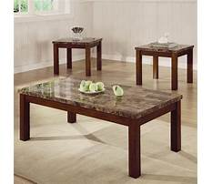 Marble coffee and end tables Plan