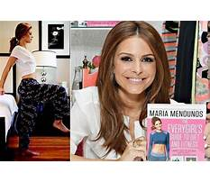 Maria menounos diet and workout Plan
