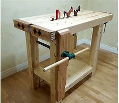 Masters wooden bench tops Plan