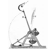 Medieval trebuchets in action Plan