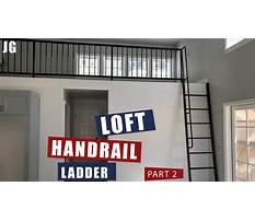 Metal loft ladder jimbos garage Plan