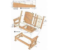 Metal porch glider chairs Plan