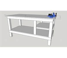 Metal shop workbench plans Plan