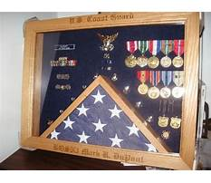 Military medal shadow box plans Plan