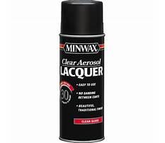 Minwax lacquer spray.aspx Plan