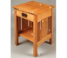 Mission end table plans free Plan