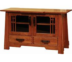 Mission style tv stand woodworking plans Plan