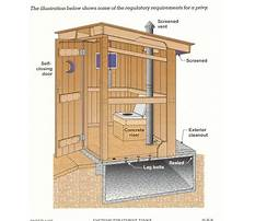 Modern outhouse construction Plan