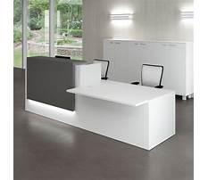 Modern reception desk furniture Plan