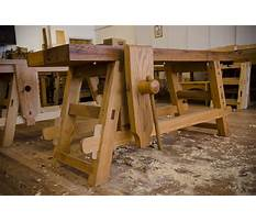 Moravian woodworking bench design Plan