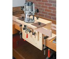 Mortise jig plans router Plan