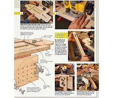 Mortise jig plans router table Plan
