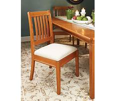 Most comfortable dining chair design Plan