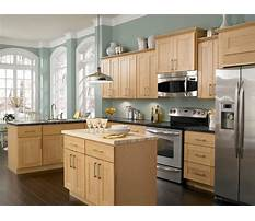 Most popular wood cabinet finishes Plan