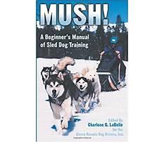 Mush dog training.aspx Plan