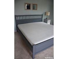 My bed makeover with a lull mattress thrift diving Plan