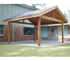 My outdoor plans carport Plan