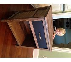 Night stand plans to build Plan