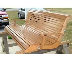 Oak porch swings Plan